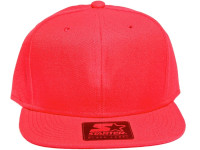 Solid Red Blank STARTER Snapback Hat