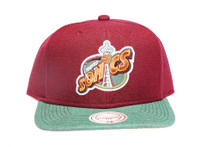 Seattle Supersonics Command 2-tone Mitchell & Ness NBA Snapback Hat