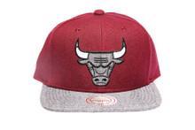 Chicago Bulls Command 2-tone Mitchell & Ness NBA Snapback Hat