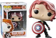 Black Widow With Shield - Avengers 2 - POP! Marvel Vinyl Figure