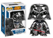 Darth Vader Limited Chrome Version - Star Wars Pop! Vinyl Figure