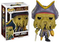 Davy Jones - Pirates of the Caribbean - Pop Movies Vinyl Figure