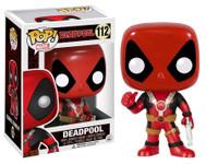 Deadpool Red Thumbs Up Pop! MARVEL Vinyl Figure