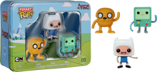 Adventure time 3-pack Pocket Pop Vinyl Tin