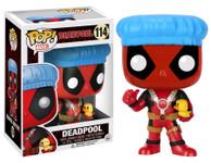 Deadpool - Shower Cap with Ducky Pop! MARVEL Vinyl Figure