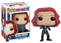 Black Widow - Captain America 3 Civil War - POP! Marvel Vinyl Figure