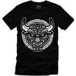 Goonville Black and Grey Bull Black T-Shirt