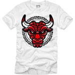 Goonville Red Bull Logo White T-Shirt