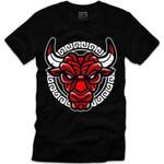 Goonville Red Bull Logo Black T-Shirt