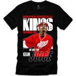 Retro Kings Tupac Juice Red Logo Black T-Shirt