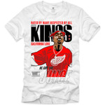 Retro Kings Tupac Juice Red Logo White T-Shirt