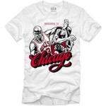 Retro Kings Welcome to Chicago Logo White T-Shirt