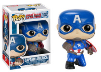 Captain America Pose Exclusive - Captain America 3 Civil War - POP! Marvel Vinyl Figure