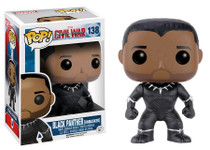 Black Panther Unmasked US Exclusive - Captain America 3 Civil War - POP! Marvel Vinyl Figure