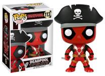 Deadpool - Pirate Deadpool US Exclusive Pop! MARVEL Vinyl Figure