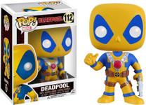 Deadpool - Yellow Suit US Exclusive Pop! MARVEL Vinyl Figure
