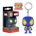 Deadpool X-Men Blue & Yellow US Exclusive - Deadpool - Pop! Vinyl Pocket Pop Keychain