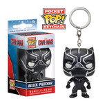 Captain America 3: Civil War - Black Panther Pocket Pop! Keychain