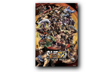 Street Fighter IV Blockmount Wall Hanger