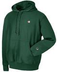 Champion Reverse Weave Dark Green Hoodie Pullover Jersey
