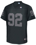 Champion Gridiron Black Mesh Football Jersey