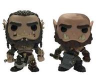 Warcraft Movie - Durotan and Orgrim Exclusive two Pack - Pop! Vinyl Figure