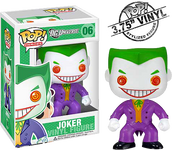 Cartoon Joker Pop! Heroes Vinyl Figure