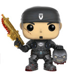 Gears of War - Marcus Fenix Gold Lancer SDCC Eclusive - Pop Games Vinyl Figure