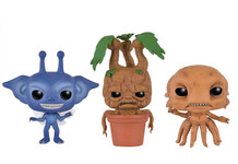 Cornish Pixie, Mandrake & Grindylow mini SDCC Exclusive 3-Pack - Harry Potter - Pop! Movie Vinyl Figure