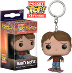 Back to the Future - Marty McFly Pocket Pop! Keychain