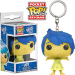 Joy - Inside Out - Pocket Pop! Keychain
