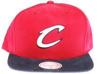 Cleveland Cavaliers Sandy 2-Tone Maroon and Navy Mitchell & Ness NBA Snapback Hat