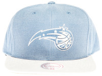 Orlando Magic Sandy 2-Tone Blue and Grey Mitchell & Ness NBA Snapback Hat