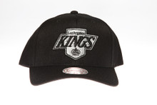 Los Angeles Kings Black Flex-Fit Mitchell & Ness NBA Snapback Hat