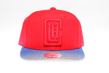 Los Angeles Clippers Blue & Grey Underbrim Mitchell & Ness NBA Snapback Hat