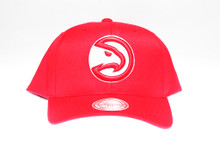 Atlanta Hawks Red Flex-Fit Mitchell & Ness NBA Snapback Hat