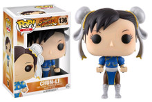 Street Fighter Chun-Li Pop! Games Vinyl Figure