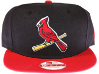 St. Louis Cardinals Alternate Logo New Era 9FIFTY MLB Blue and Red Snapback Hat