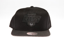 LA Kings Charcoal Two-Tone Arch Mitchell & Ness Snapback Hat