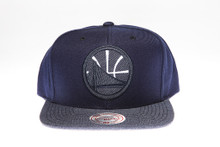 Golden State Warriors Two-Tone Arch Mitchell & Ness Snapback Hat
