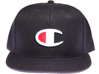 "Champion ""C"" Logo Navy Snapback Hat"