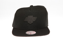 LA Kings Two-tone Badge Logo Mitchell & Ness Snapback Hat