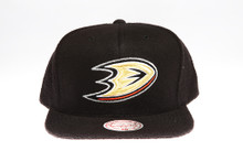 Ducks Logo Flannel Mitchell & Ness Snapback Hat