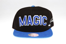 Magic Block Script Arch Mitchell & Ness Snapback Hat