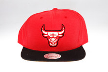 Chicago Bulls Sandy two-tone Logo Arch Mitchell & Ness Snapback Hat