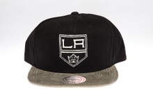 LA Kings Sandy two-tone Logo Arch Mitchell & Ness Snapback Hat