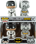 Batman - Bullseye & Zebra US Exclusive Pop! Vinyl Figure 2-Pack