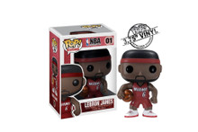 Lebron James Miami Heat Pop Vinyl Figure