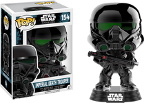Star Wars: Rogue One - Imperial Death Trooper Chrome US Exclusive Pop! Vinyl Figure