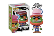 Dr Teeth from the Muppets Pop! Muppets Vinyl Figure